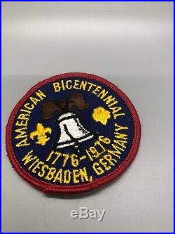 11 Vintage BSA Boy Scout Patch Lot Most circa 70s Germany Rhineland Gilwell