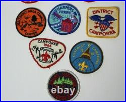 12 Vintage Boy Scouts of America BSA Patches Baltimore Maryland Lot
