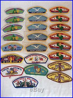 170 VINTAGE Boy Scout Council patches BSA flap PATCH