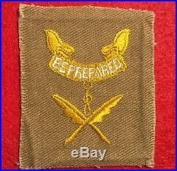 1920's Second Class and Scribe combination rank and position patch