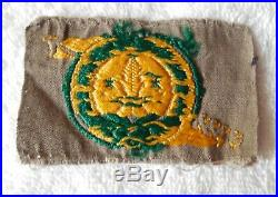 1929 Boy Scout Official World Jamboree Badge/patch Very Rare