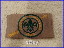 1929 World Jamboree Participant Patch