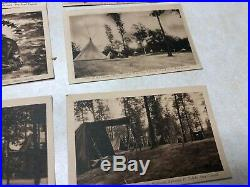1930's Camp Miakonda Postcards & Swim Patch Lot