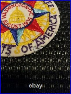 1935 National Boy Scout Jamboree Pocket Patch BSA Washington JSP