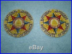 1935 Washington DC Boy Scout of America Jamboree Patch Set