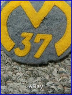 1937 Camp Manhattan Ten Mile River TMR Camp Patch Greater New York Boy Scouts