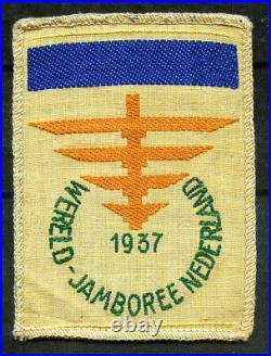 1937 Jamboree dark blue bar Patch, Boy scout patch, R