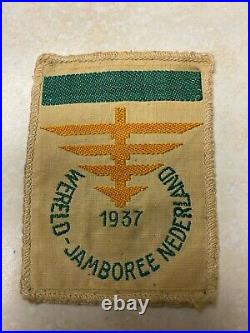 1937 World Jamboree Subcamp 2 Pocket Patch