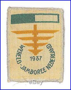 1937 World Scout Jamboree OFFICIAL PARTICIPANTS SUBCAMP Patch