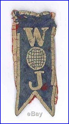 1937 World Scout Jamboree USA BOY SCOUTS OF AMERICA (BSA) Contingent Patch