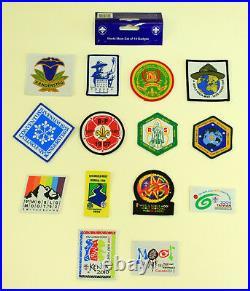 1939-2013 World Scout Moot (World Rover Scouts Jamboree) EMBROID SOUVENIR PATCH