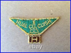 1940s Camp HUAL CU CUISH San Diego California Scout Patch With Segment