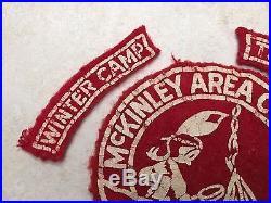 1950 McKinley Area Council Felt Council Patch With2 Segments