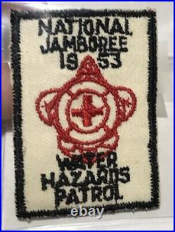 1953 National Jamboree Water Hazard Patrol PAtch TC1