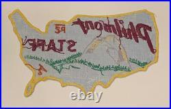 1954 Rare Mint Philmont Staff Patch