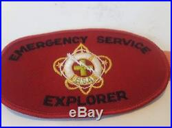 1958 Boy Scout Collection Explorer Silver Award Medal Type 2 With Patch