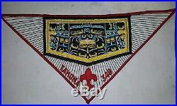1979 Tahoma 348 BSA HUGE Neckerchief Patch very rare LAST ONE