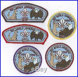 1987 World Scout Jamboree USA Boy Scouts of America BSA Jamboree Shoulder Patch