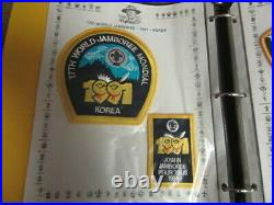 1991 World Jamboree Patch Collection