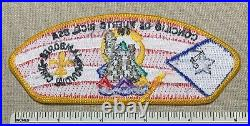 1998-99 PUERTO RICO COUNCIL Boy Scout World Jamboree Contingent PATCH JSP Chile