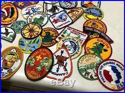 1Lot of 89 Misc Boy Scout Patches