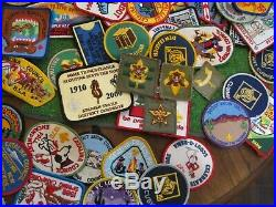 200 Plus Assorted Boy Scout Patches