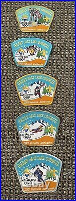 2001 National Jambore Great Salt Lake Council JSP Olympics 21 Patch Set BSA