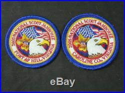 2005 National Jamboree Politically Incorrect Patch and Replacement Patch c1