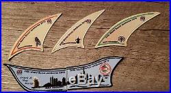 2019 24th World Jamboree Dubai contingent Neckerchief and patch set
