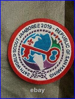 2019 24th World Scout Jamboree San Marino delegation patch
