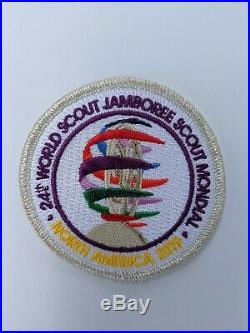 2019 World Scout Jamboree Commemorate Silver Mylar Patch (Sold Out)