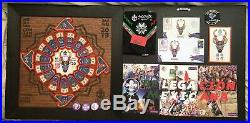 24th WORLD SCOUT JAMBOREE WOOD FRAMED FOR THE MEXICO SET OF PATCHES & MORE ITEMS