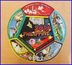 24th World Boy Scout Jamboree 2019 Philippine Contigent 6 patch sets