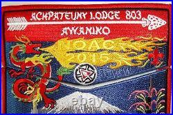 Achpateuny 498 803 Far East 100th Oa Flap 2015 Noac 2-patch Awaniko Delegate