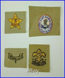Asociación Nacional de Scouts de Panamá Rank Patches Includes Balboa Rank 1959