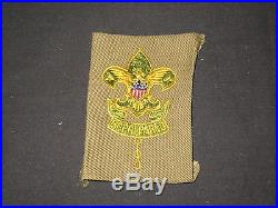 Assistant Scoutmaster Patch, 1920s, folded under ig#2