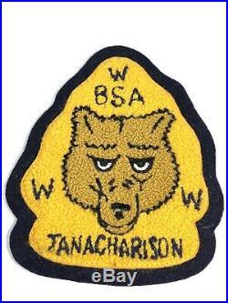 BOY SCOUT OA 67 TANACHARISON C1 CHENILLE Arrowhead Patch