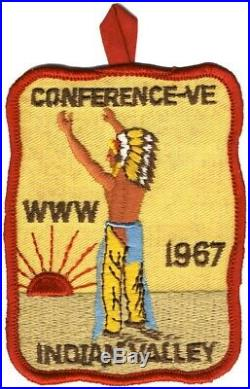 BOY SCOUTS OA Conclave AREA 5E 1967 Section BSA PATCH BADGE