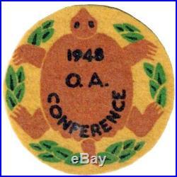 BOY SCOUTS OA Conclave AREA 7F 1948 231 R2 Section BSA FELT PATCH BADGE