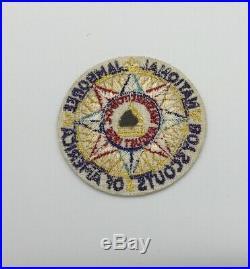 BSA 1935 Boy Scout National Jamboree Washington DC Participant Felt Patch