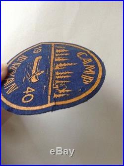 BSA 1940 Camp Bryan Boy Scout Felt Patch