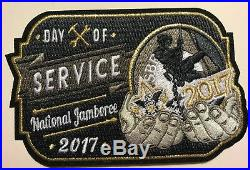 BSA 2017 NATIONAL JAMBOREE DAILY PATCH-OF-THE-DAY 10-pc SET GMY LIMITED EDITION