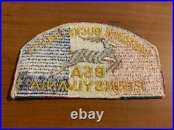 BSA, Bucks County Council Undated 1973 Jamboree Shoulder Patch (JSP), (SA-2a)