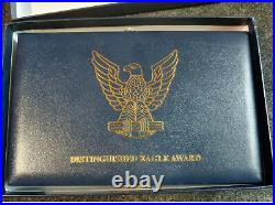 BSA Distinguished Eagle Scout Award presentation kit badges patches
