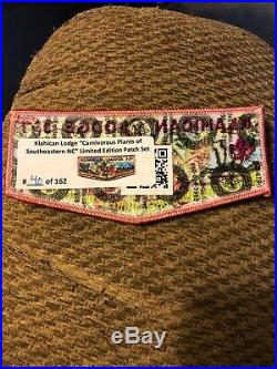 (BSA) Klahican 331 Set Of Klahican Lodge Flaps Carnivorous Plants Patch Set