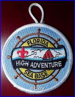 BSA National High Adventure Florida Sea Base Participation Loop Patch