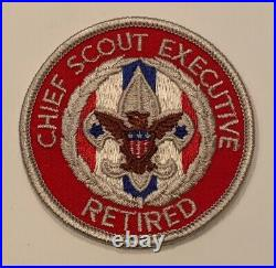 BSA National Office Patch Chief Scout Executive Retired Mint