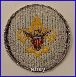 BSA National Office Patch Honorary President (darker purple)