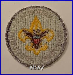BSA National Office Patch Honorary President (lighter purple)
