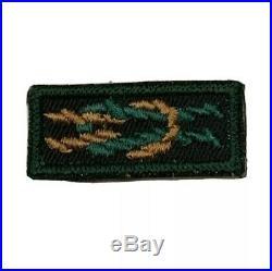 BSA Ranger Square Knot Patch Mint
